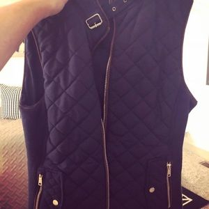 Zara Quilted Vest - Size S